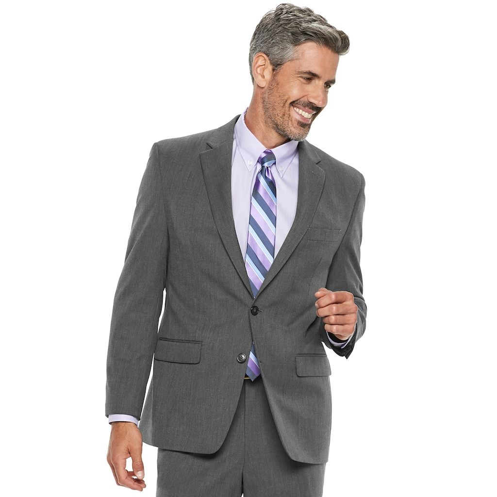 addb25840ec Chaps Men s Performance Series Classic-Fit 4-Way Stretch Suit Jacket ...