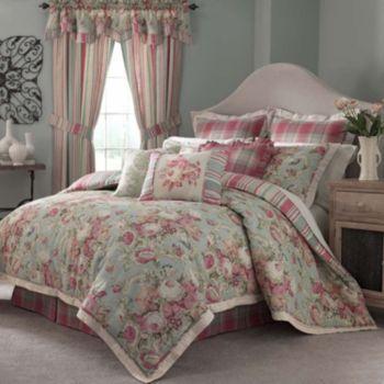 Waverly Spring Bling 4-pc. Reversible Comforter Set