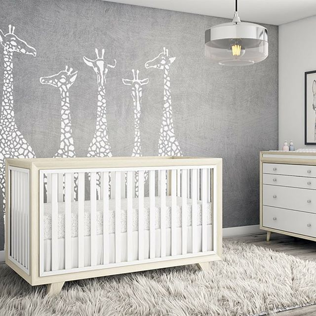 You guys!!!! We've been so excited to share the Project Nursery Crib - the Wooster!  We partnered with the revered designers of the eco-friendly furniture company Karla Dubois to produce our first crib.