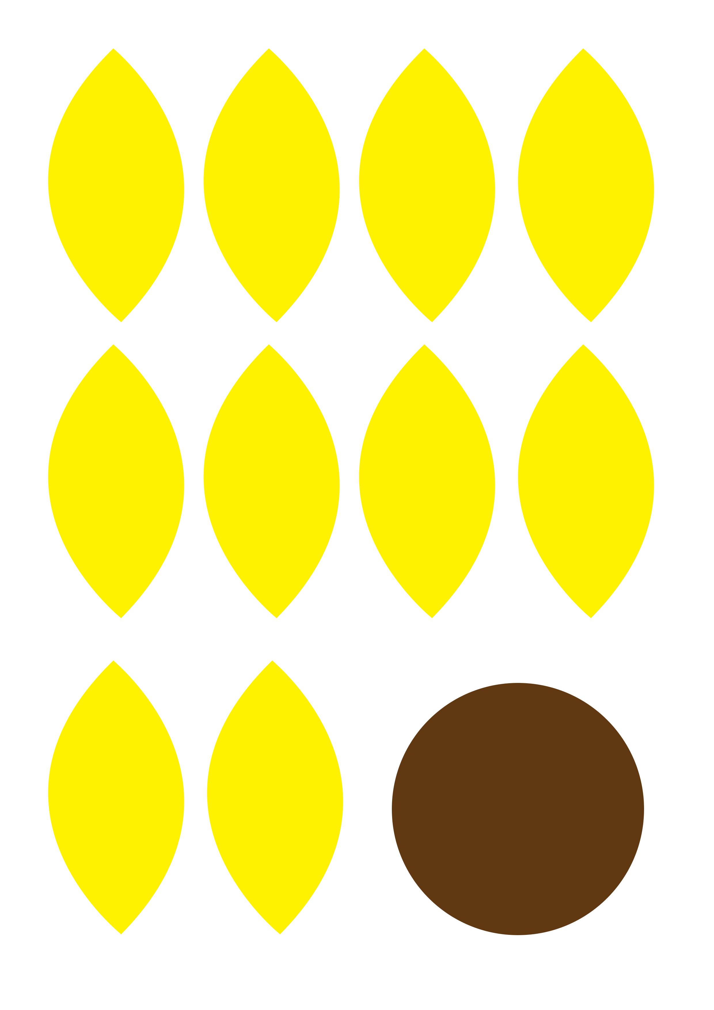 Aktuell Sonnenblume Basteln Anleitung Und Vorlage Fur Die Blume In 2020 Sonnenblume Basteln Blumen Basteln Sonnenblumen