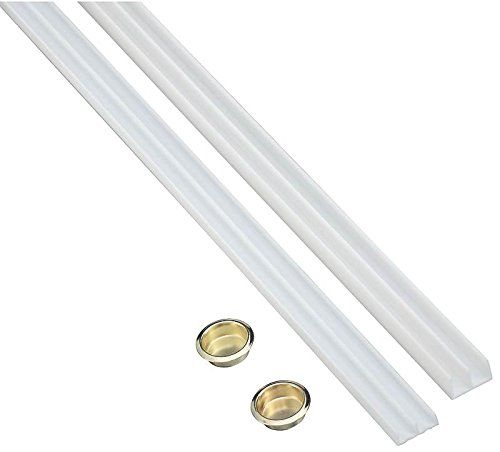 Stanley Hardware 40 3426 1 4 X 6 Plastic Track In White Coated Stanley Hardware Screen Door Hardware Hardware Deer Blind