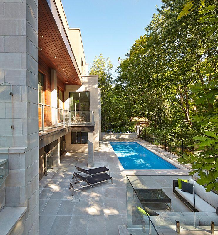 Blythwood Ravine by Richard Librach Architect Inc. - Backyard ...