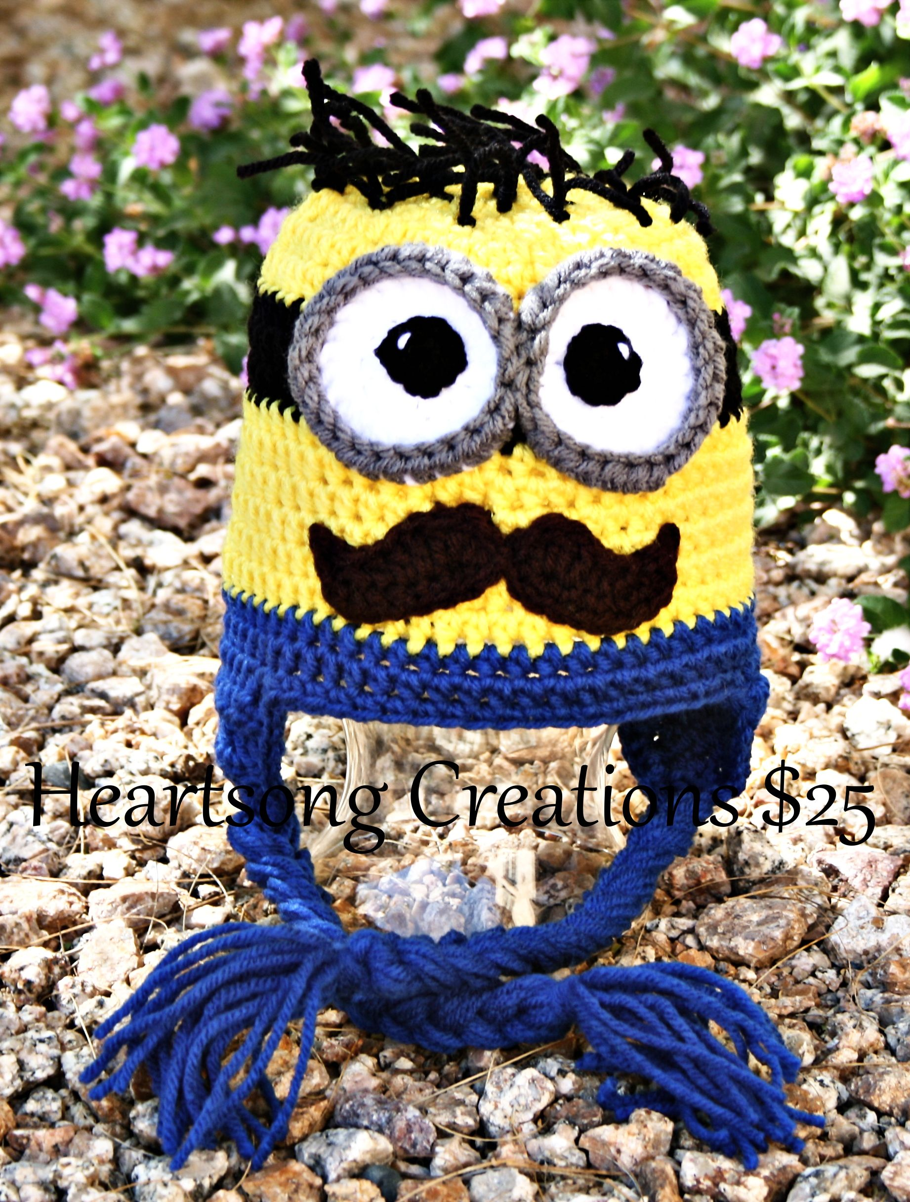 Mustache minion hat from heartsong creations moogly community mustache minion hat from heartsong creations bankloansurffo Images