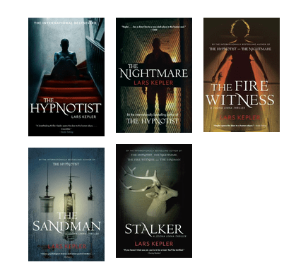 Joona Linna Series By Lars Kepler By Mrsdickie A Community Created List Series Following Detective Joona Linna Created By Team Aut Books Sandman Book Cover