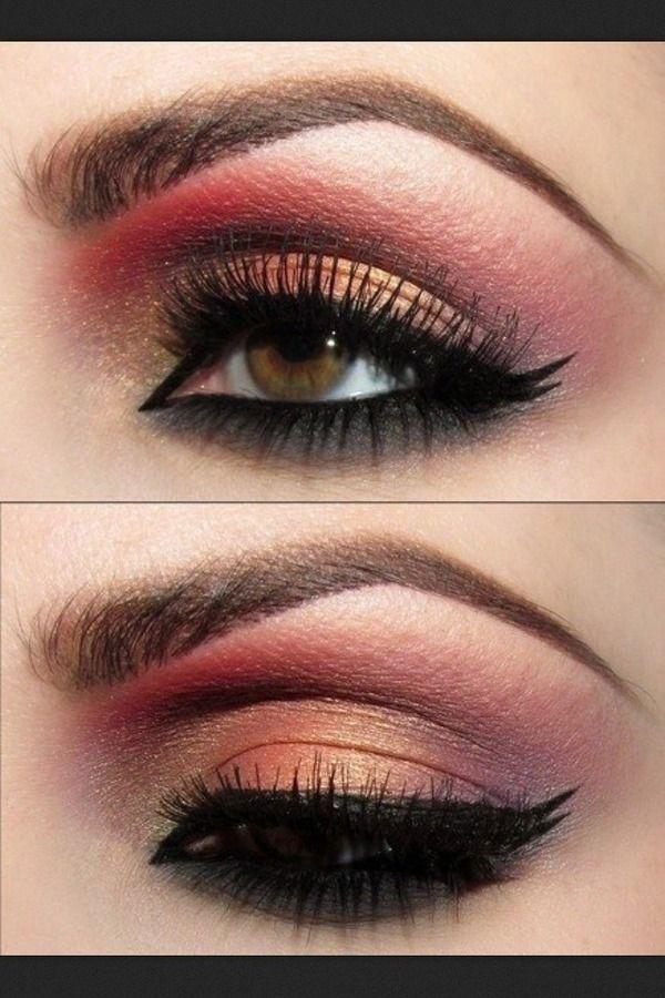 Sexy Pink Eye Makeup