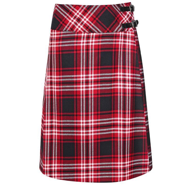 #Tartan Plaid Long women skirt #2dayslook #anna7891 www.2dayslook.com