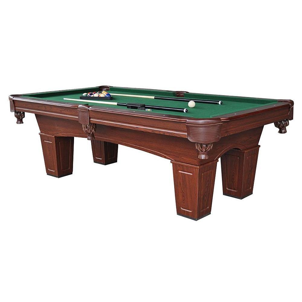8ft Brenham Billiard Table W Bonus Table Tennis Top 812
