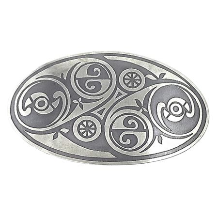 Hairslide with Celtic decorations