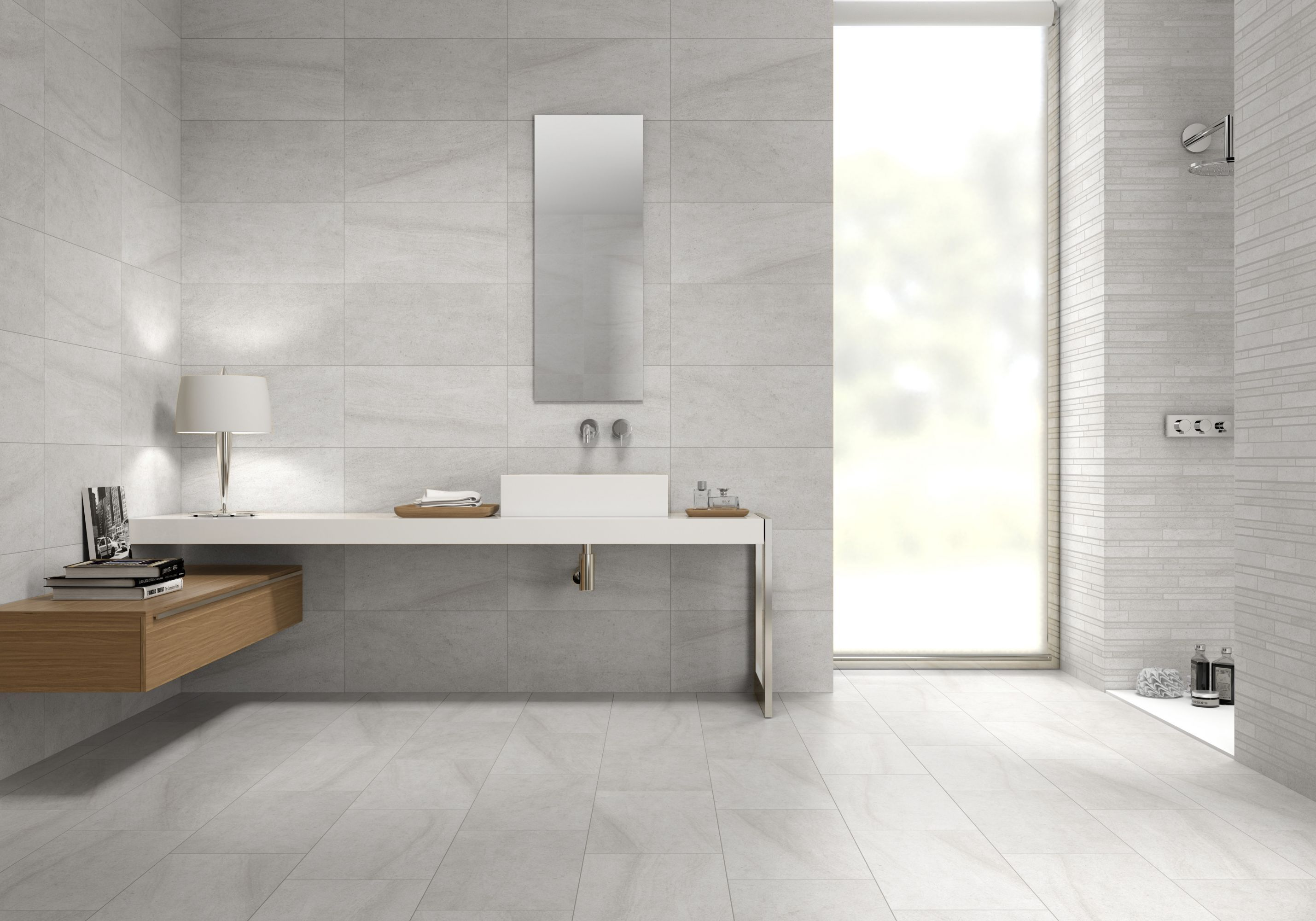 Charmant The Limestone Matt Almond Bathroom Floor Tiles Range