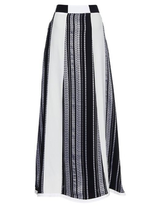 Zeus + Dione Leda jacquard silk skirt | Shop now at #MATCHESFASHION