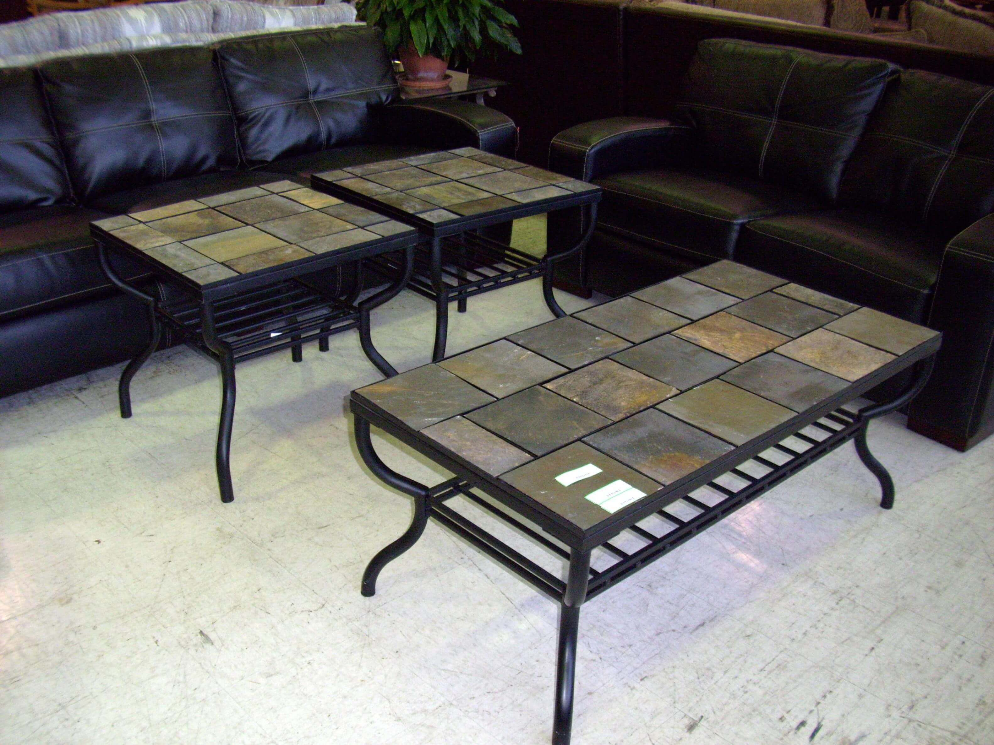 85 Slate Top Coffee Table Slate Top Coffee Table Slate Coffee Table Coffee Table Vintage [ 2373 x 3164 Pixel ]