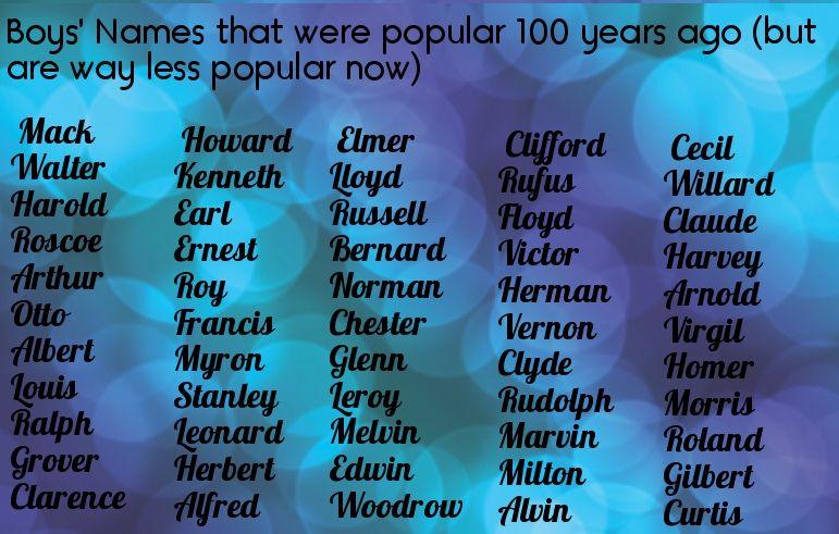 11++ Nerdy boy baby names information