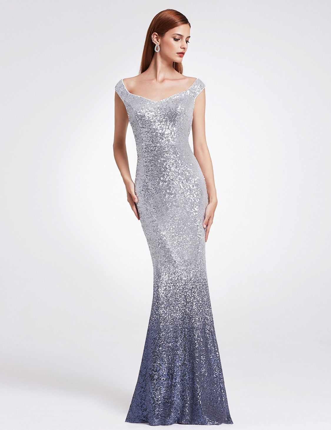 0c0b386129 Love Sparkles Off Shoulder Floor Length Sequins Evening Gown | Ever-Pretty  #prom #promdress #promidea #EverPretty #sequindress #sparklingdress