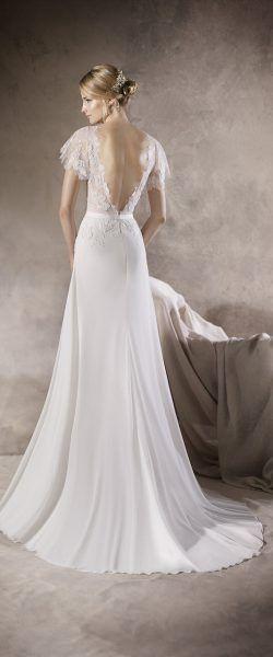 gefunden bei HAPPY BRAUTMODEN Brautkleid Hochzeitskleid elegant edel ...