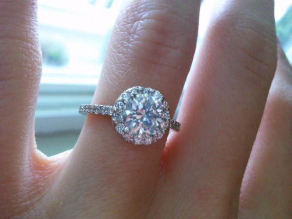 Let\'s see your 1 carat diamonds! : wedding 1 carat diamond engagement ring  Ring1