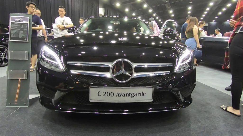 Mercedes Benz New C 200 Avantgarde Line Facelift Mercedes Benz Mercedes Parkir Paralel