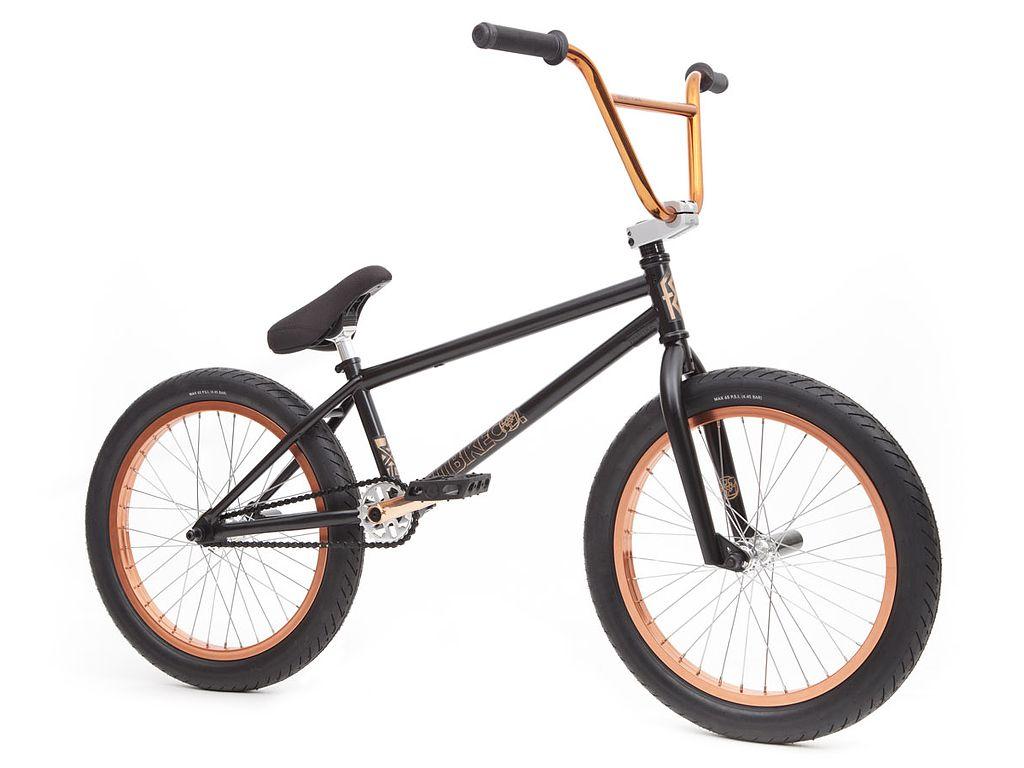 Fit Bike Co Conway 2 2016 Bmx Bike Matte Black Copper Bmx
