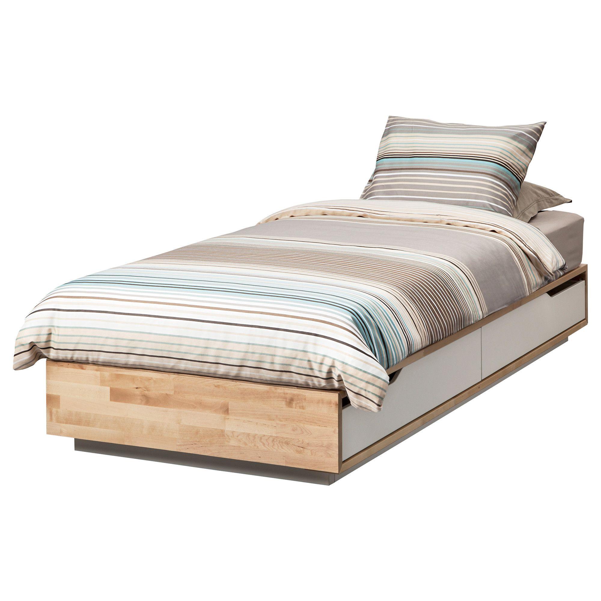 MANDAL легло с място за вещи IKEA Bed frame with
