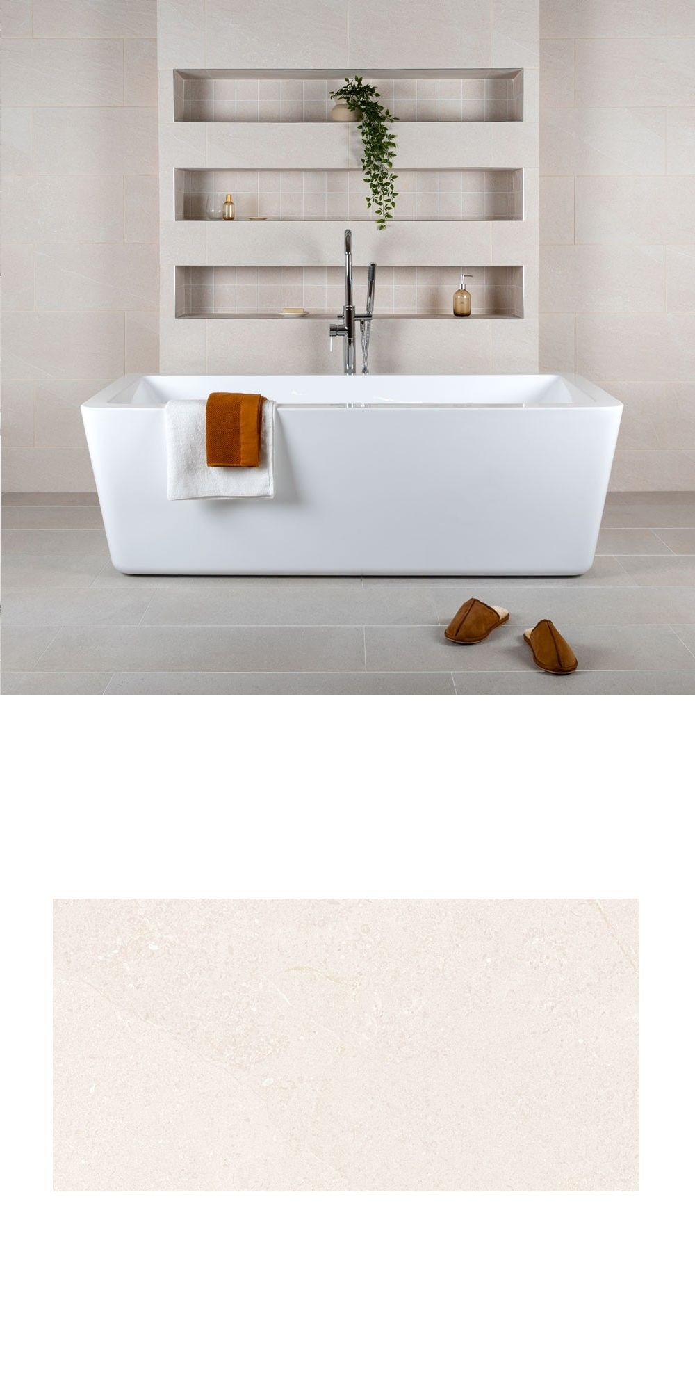 Create A Charming New Look On Your Wall Es With The Introduction Of These Earthstone Cream Tiles They Have Textured Stone Effect Design In Luscious