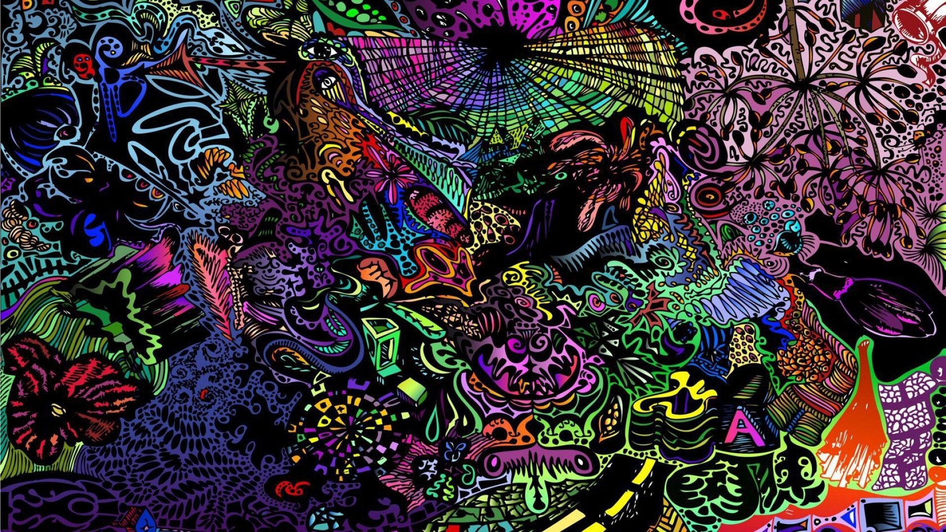 Trippy Computer Backgrounds