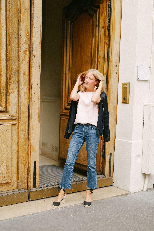 7e709dd2dc Parisian Vibes! Blogger French Style Inspiration  Die basic T-Shirts aus  Baumwolle für