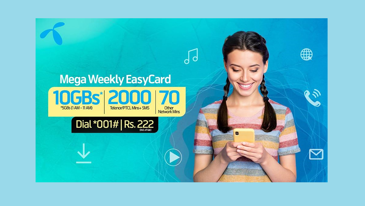 Get These Incentives With Telenor Mega Weekly Easycard Simple Cards Cards How Are You Feeling