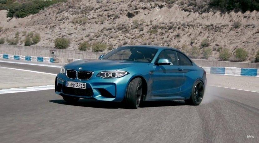 BMW demuestra que su nuevo M2 Coupé es el sucesor del M3 E30 en este vídeo - http://www.actualidadmotor.com/bmw-m2-coupe-video/