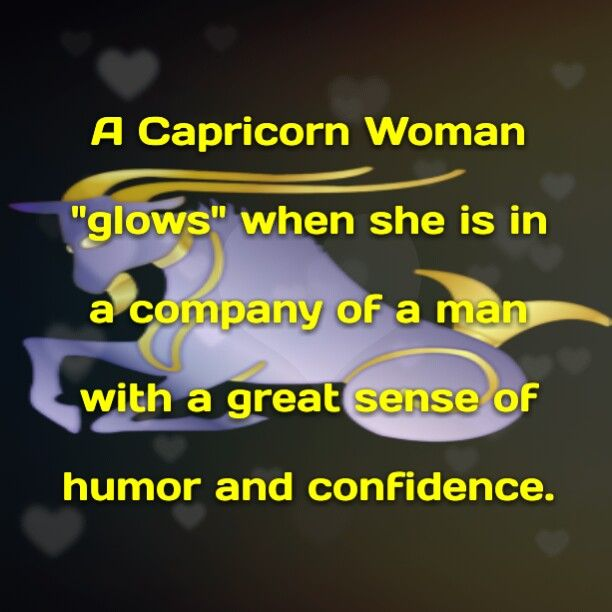 Attract capricorn woman