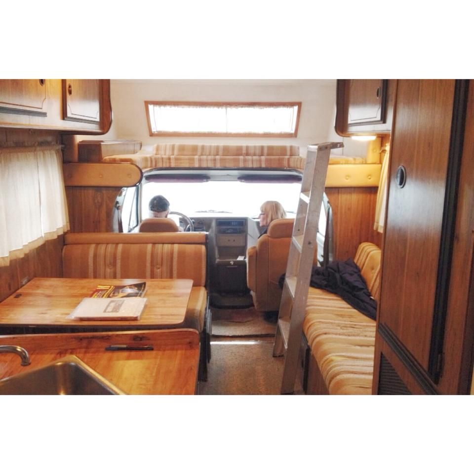 Pin by Lindsay O'Brien on Remodeling our 81' Chevy RV   Rv makeover