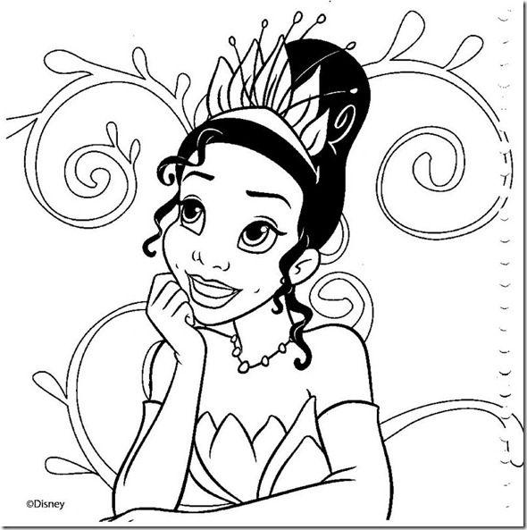 17 Desenhos Das Princesas Disney Para Colorir Ou Pintar Com