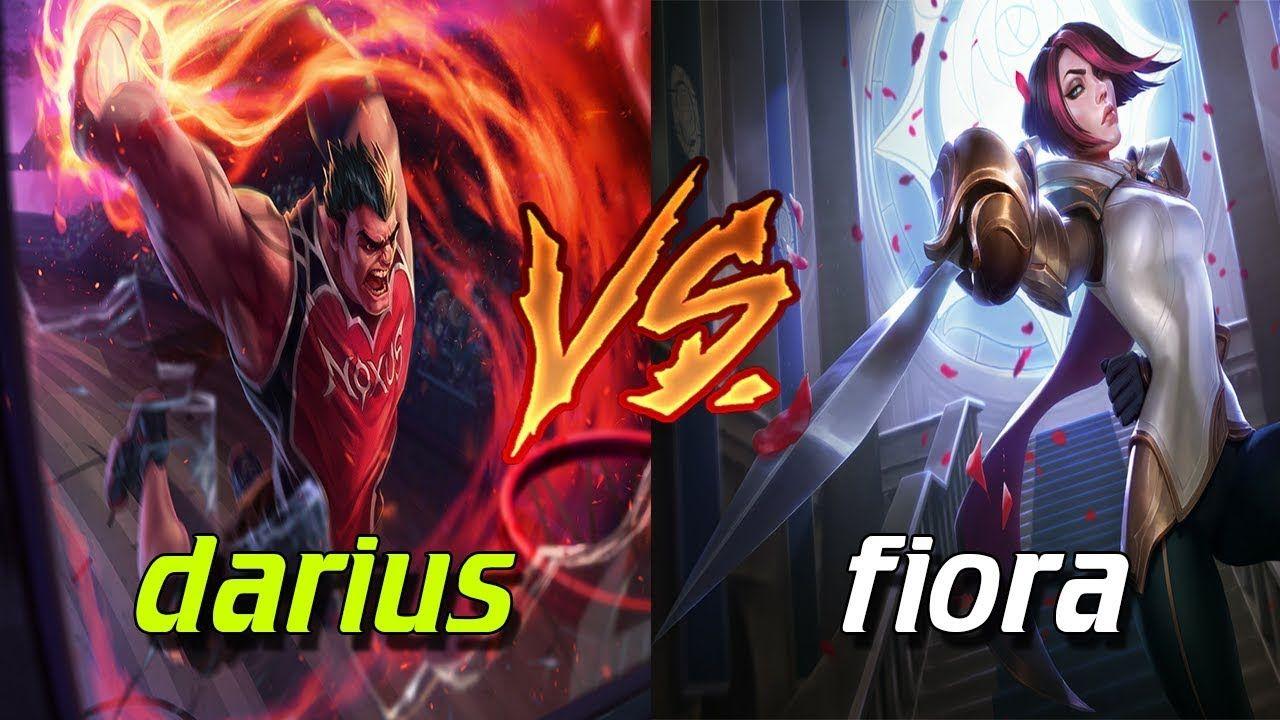 Fiora Tanbem Sola Darius - League Of Legends