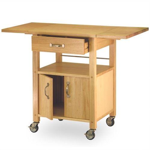 winsome basics kitchen cart  kitchen cart winsome wood