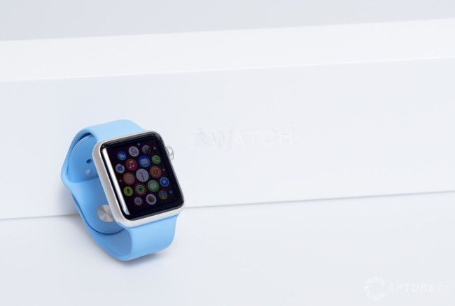 Apple Watch Sport correa azul