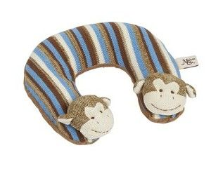 Monkey Travel Pillow for your favorite little monkey.