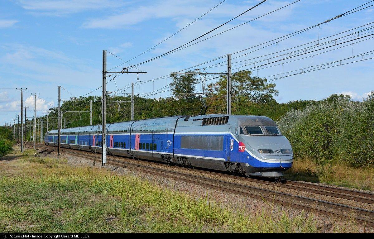 RailPictures.Net Photo: rame 617 SNCF Alstom TGV Réseau Duplex at Montbartier (Tarn et Garonne), France by Gerard MEILLEY