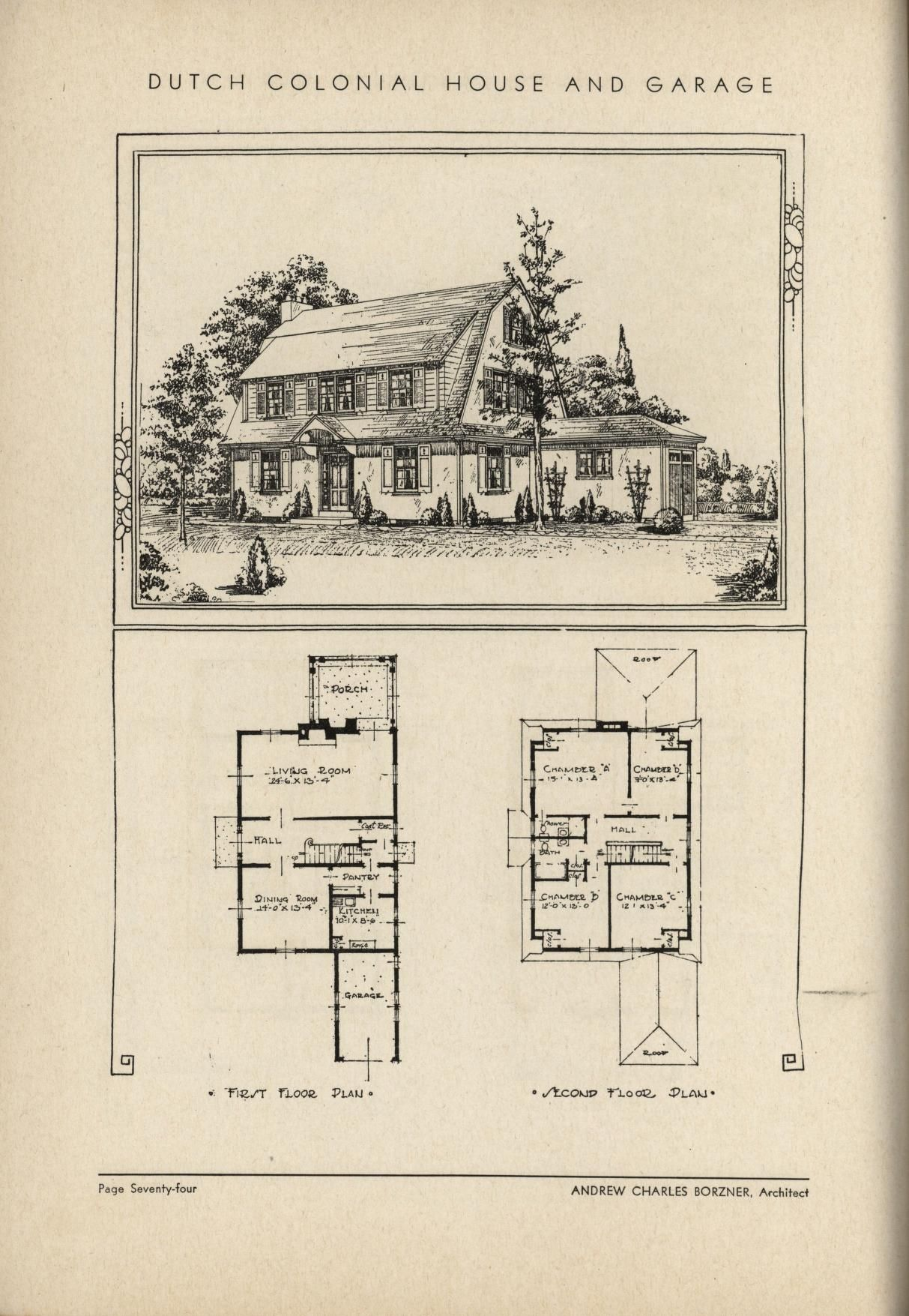 The book of beautiful homes