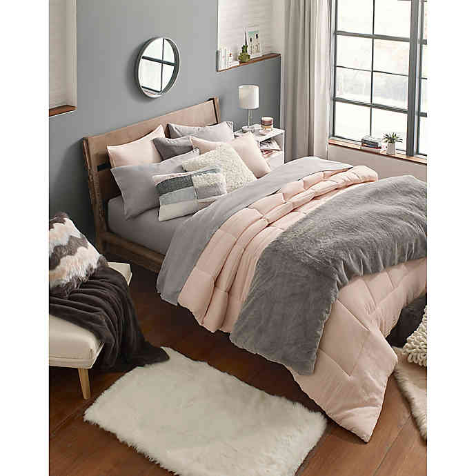 Ugg Devon 3 Piece Reversible Comforter Set Comforter Sets Square Floor Pillows Comforters