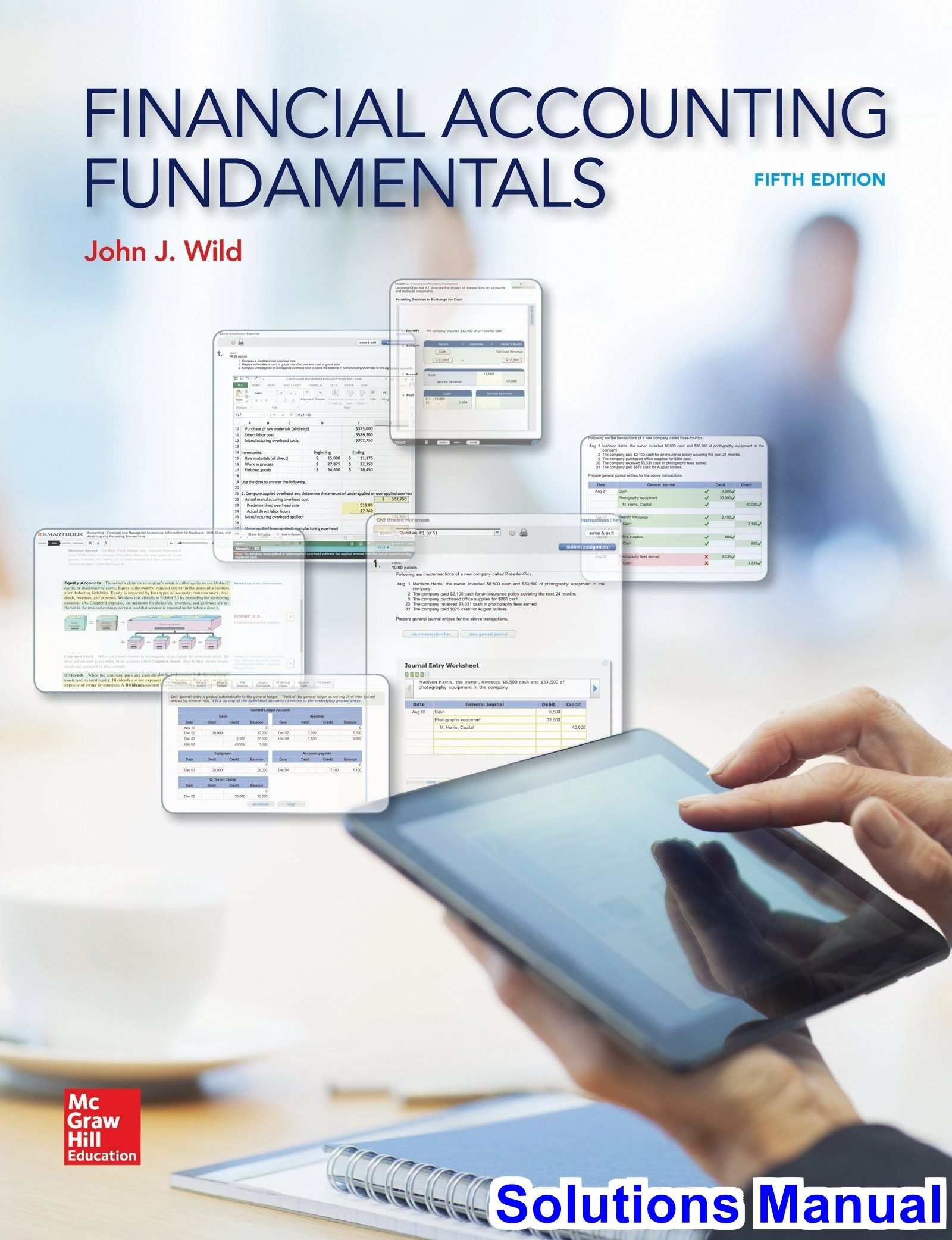 Solutions Manual for Financial Accounting Fundamentals 5th Edition by Wild