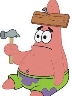 Dumb Patrick Patrick star funny, Patrick star, Spongebob