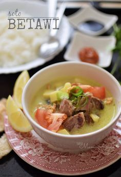 Resep Soto Betawi Dinner Pinterest Soto Betawi Foods And