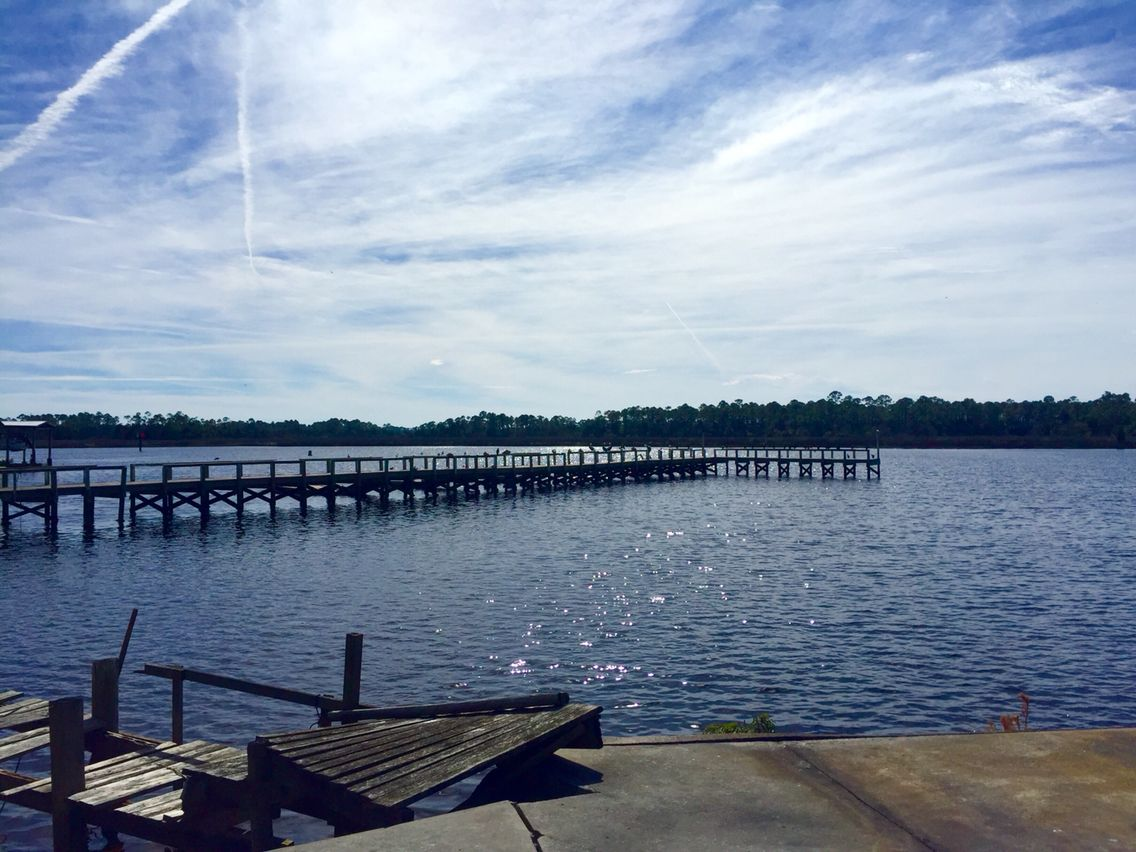 Dock Next To The Old Steinhatchee Fish House And Roy S