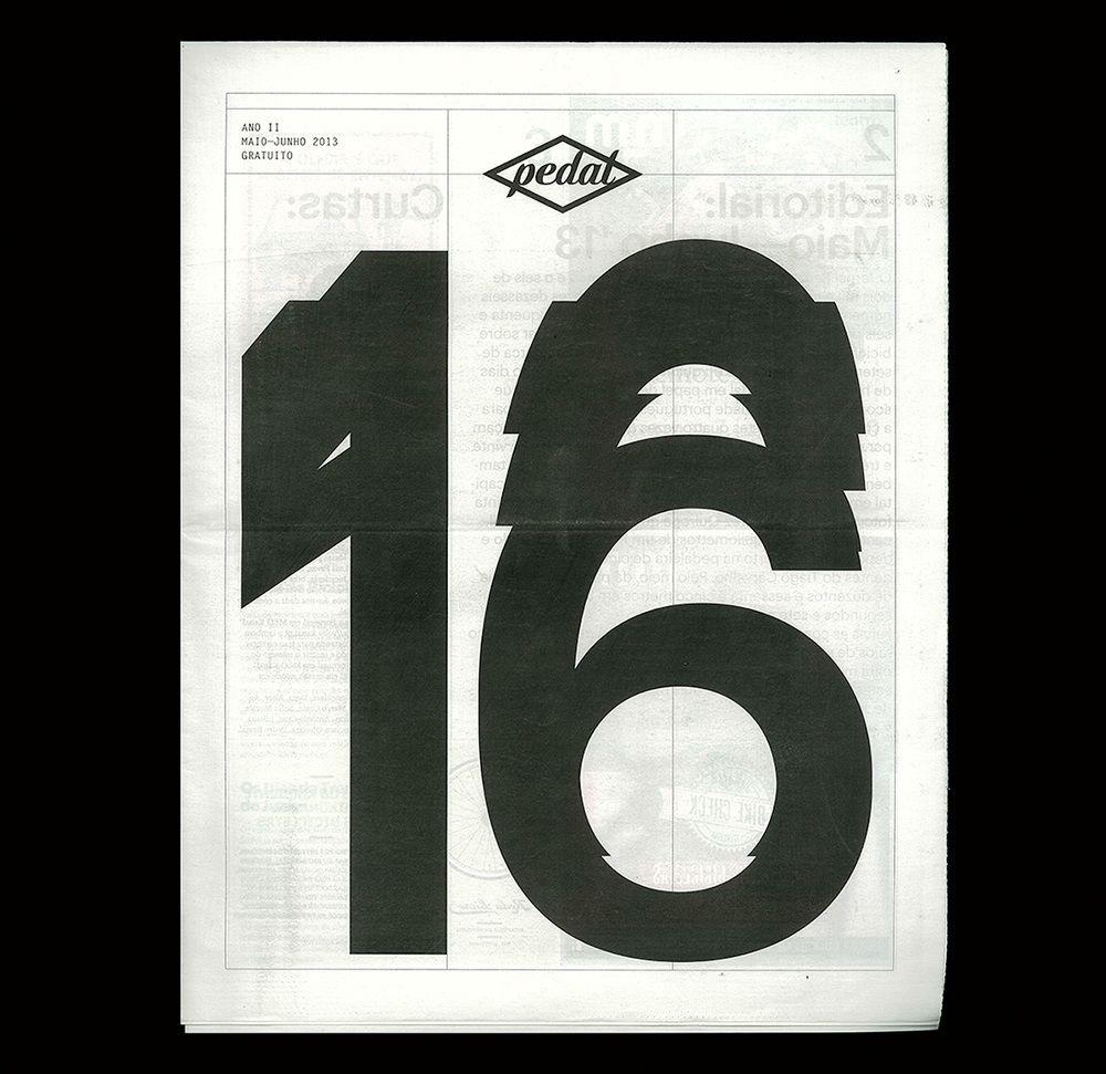 Pedal 16 Braulio Amado Book Design Cover Magazine Cover