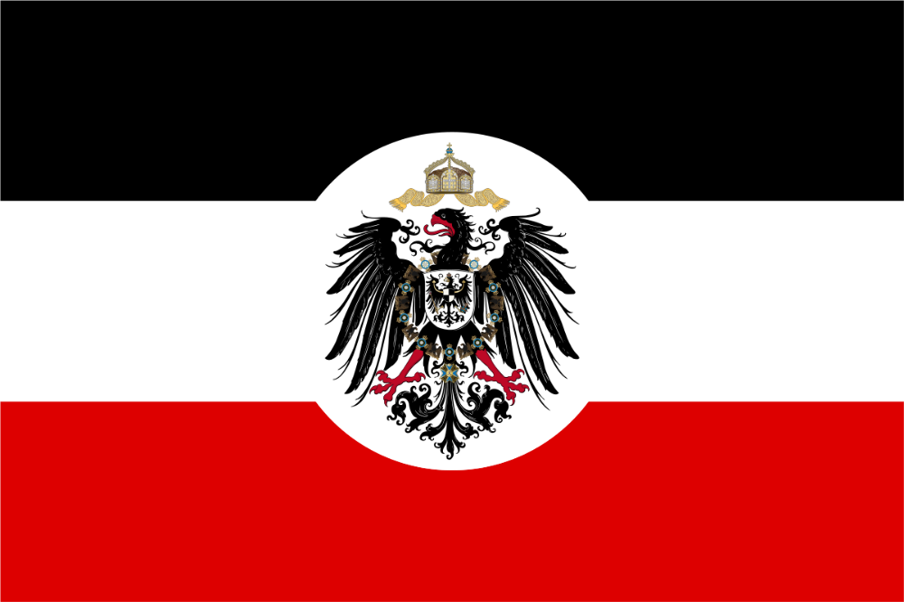 German Empire Flag In 2020 Flag Of The German Empire Flag Art Germany Flag