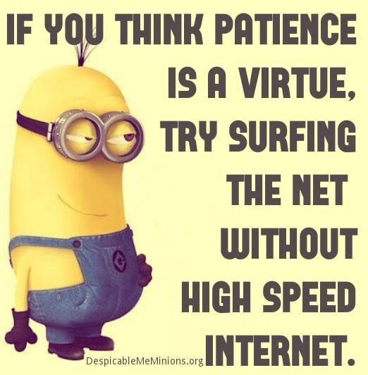 If you think patience is a virtue | Funny minion quotes ...