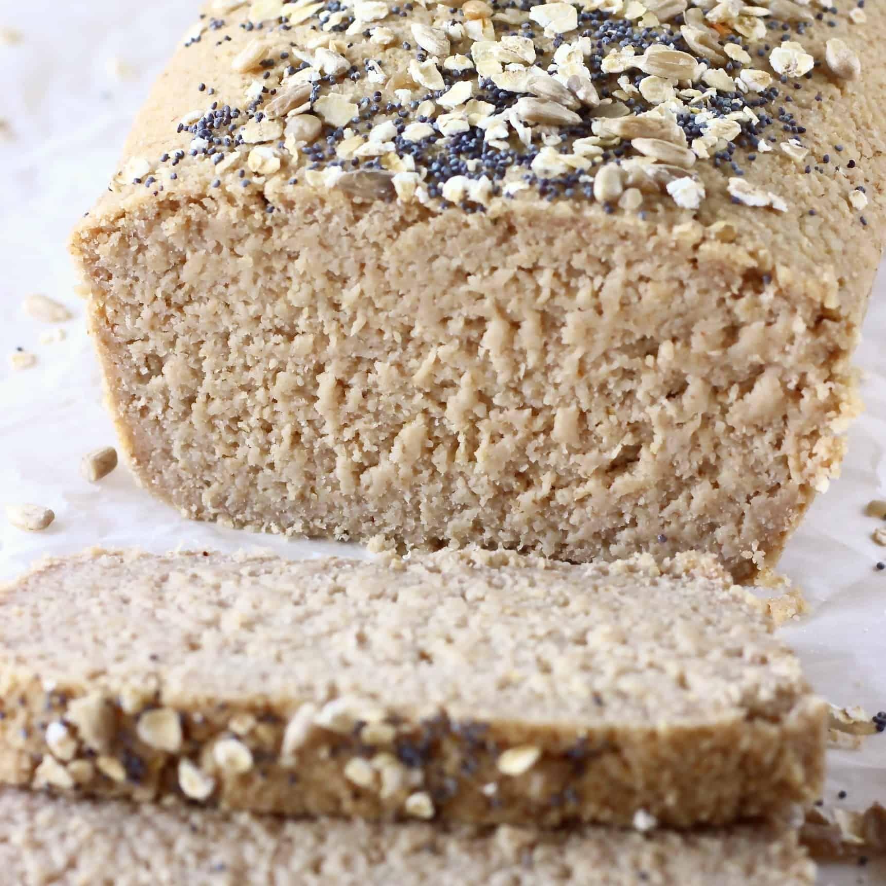 Oat Flour Bread Vegan Gluten Free Rhian S Recipes In 2020 Quinoa Bread Almond Recipes Oat Flour Recipes