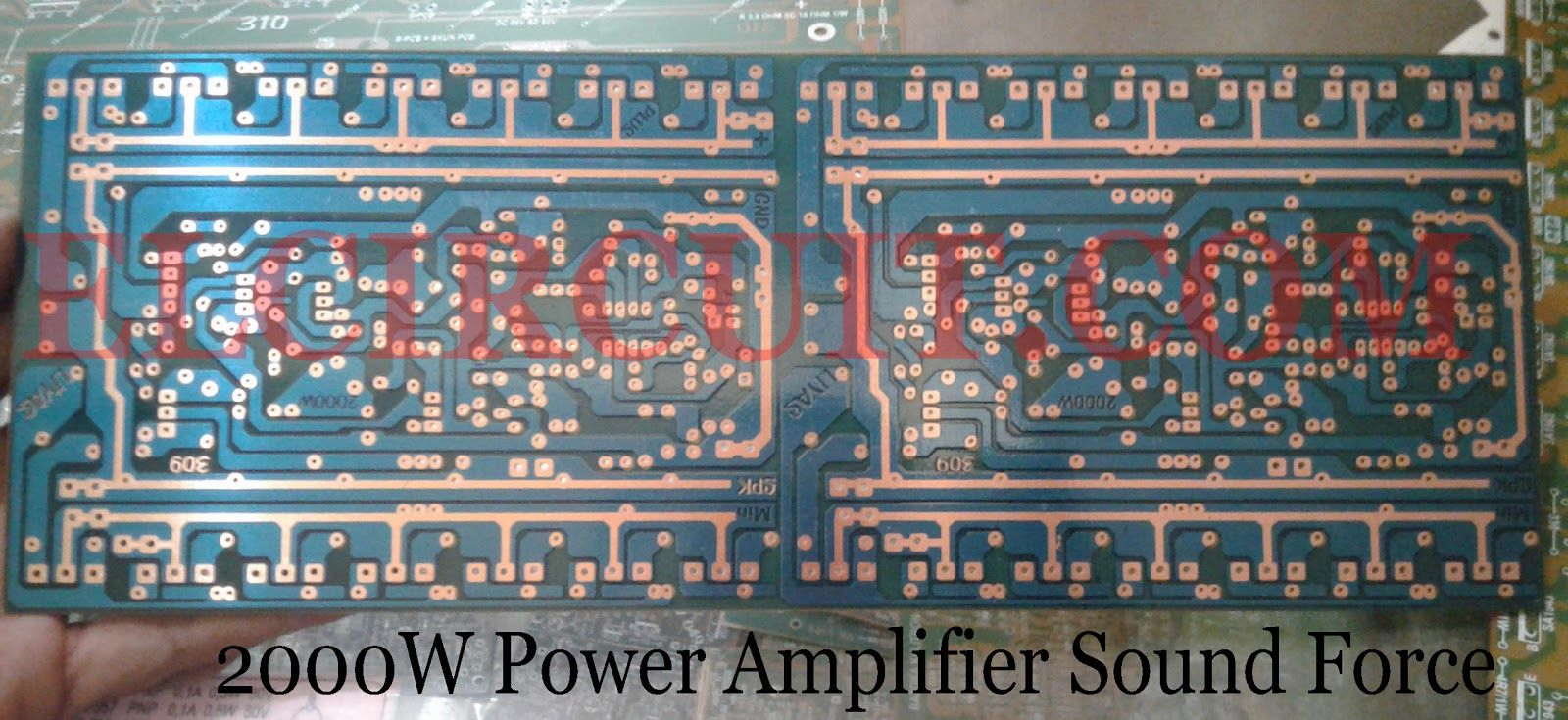 2000W Power Amplifier Circuit Complete PCB Layout in 2019 ... on
