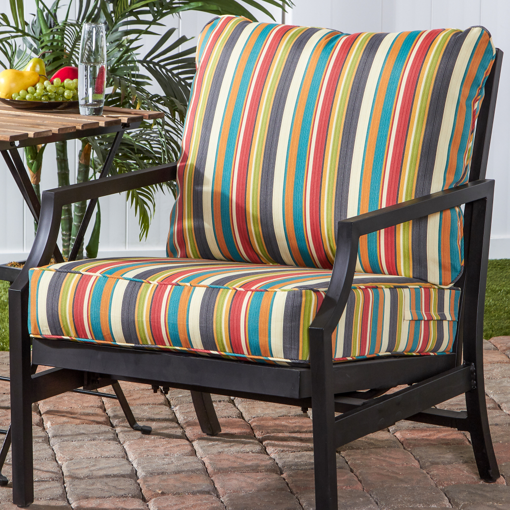 Greendale Home Fashions Sunset Outdoor Deep Seat Cushion