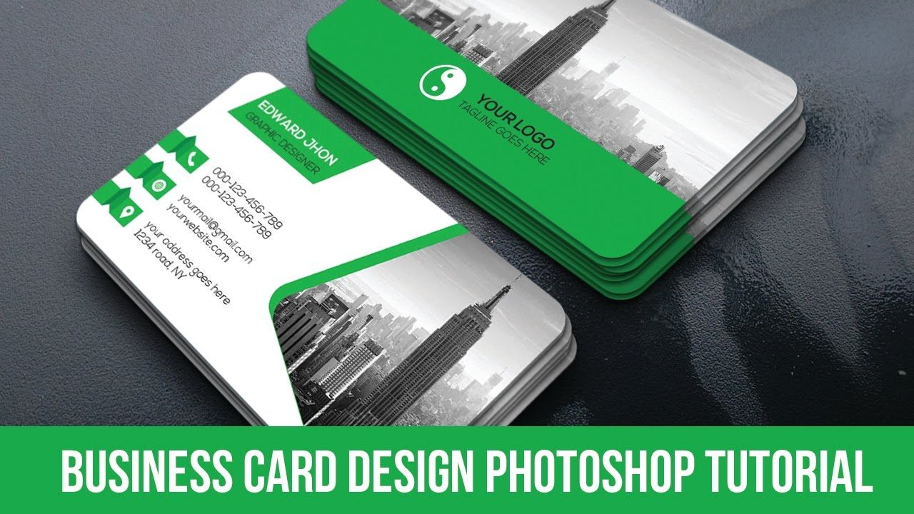 Professional business card design tutorial in photoshop photoshop professional business card design tutorial in photoshop photoshop cc t reheart Image collections