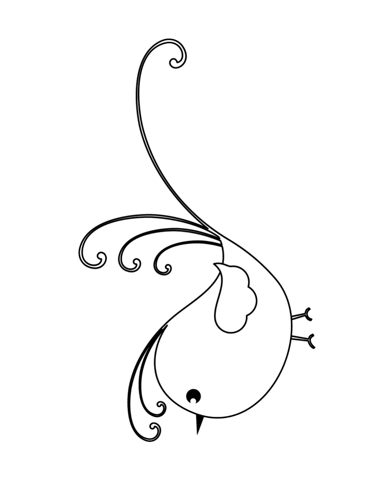 Cute Baby Birds Coloring Pages Coloring Pages