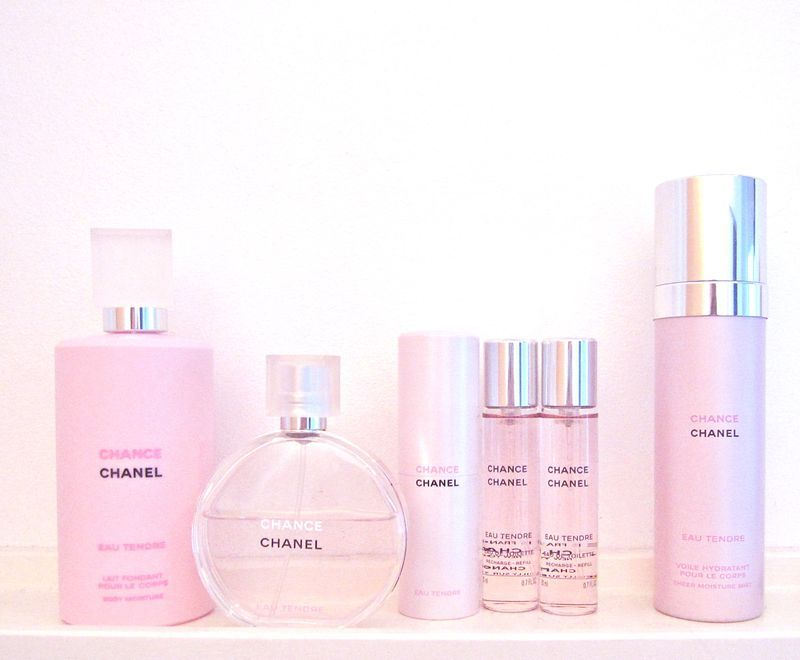 Chanel Chance Eau Tendre My Signature Scent And I Got The Hair Mist Yesterday